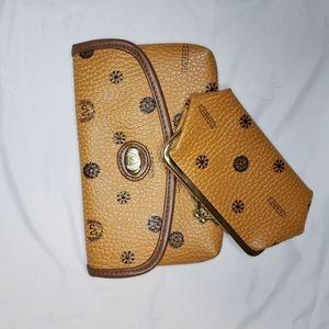 BOGO Bag clutch faux leather organizer
